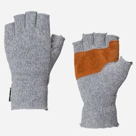 カリマー karrimor 男女兼用手袋 ロナ フィンガーレス グローブ+d グレー Sサイズ 19962