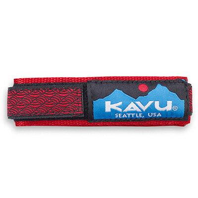 カブー KAVU ウォッチバンド レッドブレイド Lサイズ 11863003034007