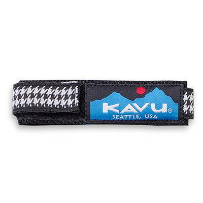 カブー KAVU ウォッチバンド ハウンズトゥース Lサイズ 11863003077007