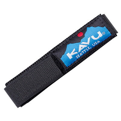 カブー KAVU ウォッチバンド ソリッドブラック Lサイズ 11863003120007