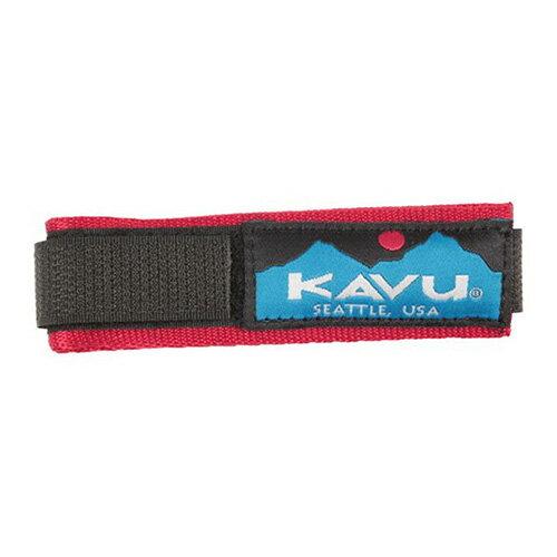 カブー KAVU ウォッチバンド ソリッドレッド Lサイズ 11863003144007
