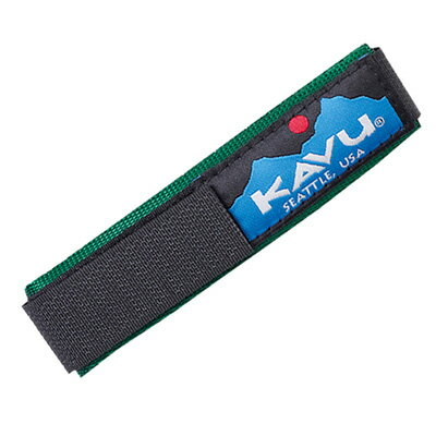 カブー KAVU ウォッチバンド ソリッドグリーン Lサイズ 11863003165007