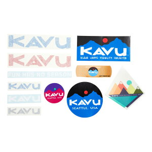 カブー KAVU ステッカー 19810757000000