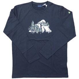 ラフマ Lafuma ストーニー ロングスリーブTシャツ ダークグレー Lサイズ LFV01104-2599