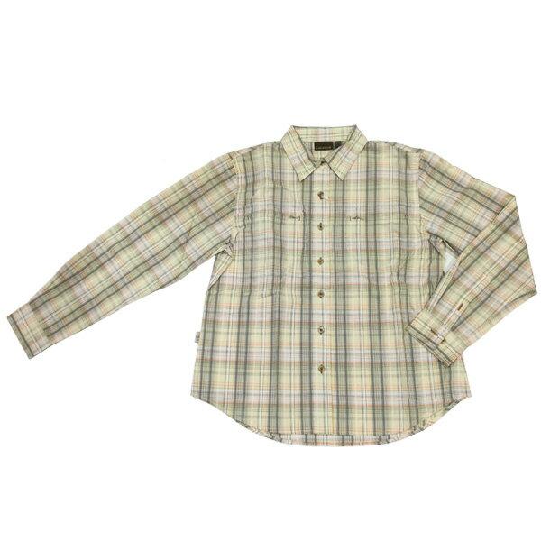 ラフマ Lafuma レディース プリバス2 ロングスリーブシャツシャツ カーキ Lサイズ LFV0408