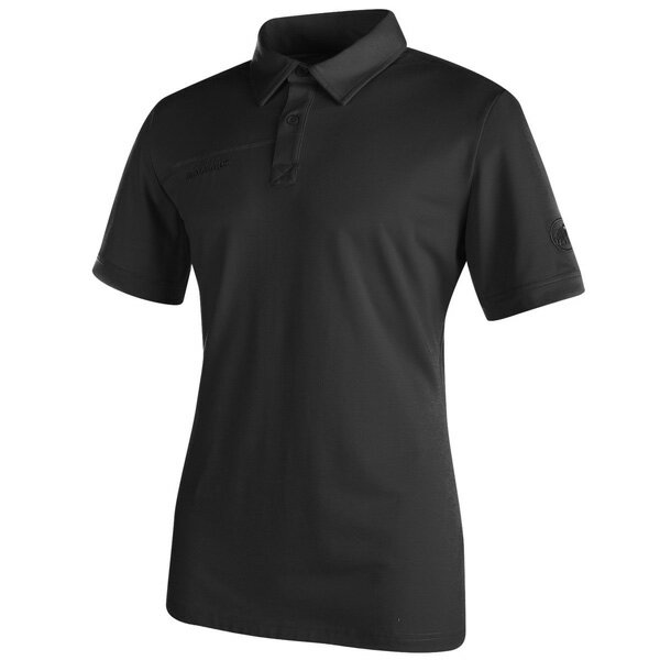 マムート MAMMUT ポロシャツ Trovat Polo Men グラファイト ユーロSサイズ(日本M)1041-06162-0121