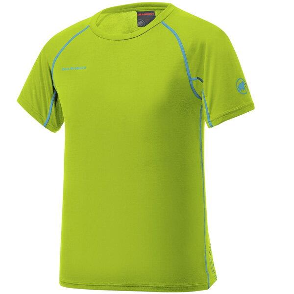 マムート MAMMUT 男性用Tシャツ COOL TOP T-Shirts Men ライム ユーロSサイズ(日本M)1041-08600-1102