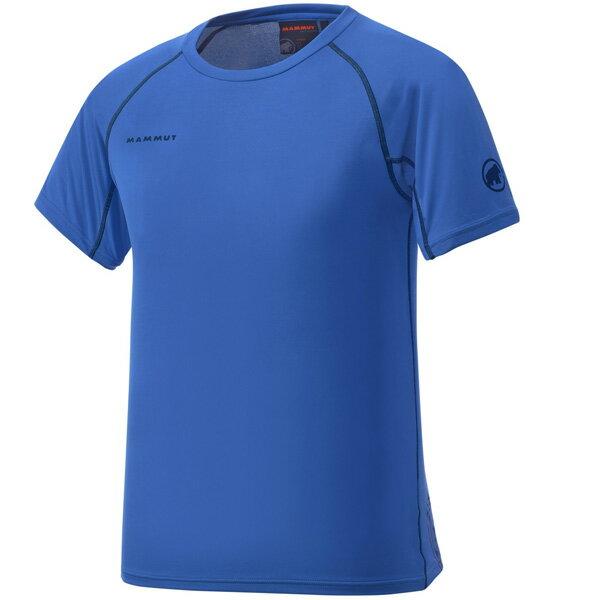 マムート MAMMUT 男性用Tシャツ COOL TOP T-\x{200b}Shirts Men ダークシアン ユーロSサイズ(日本M)1041-08600-5611
