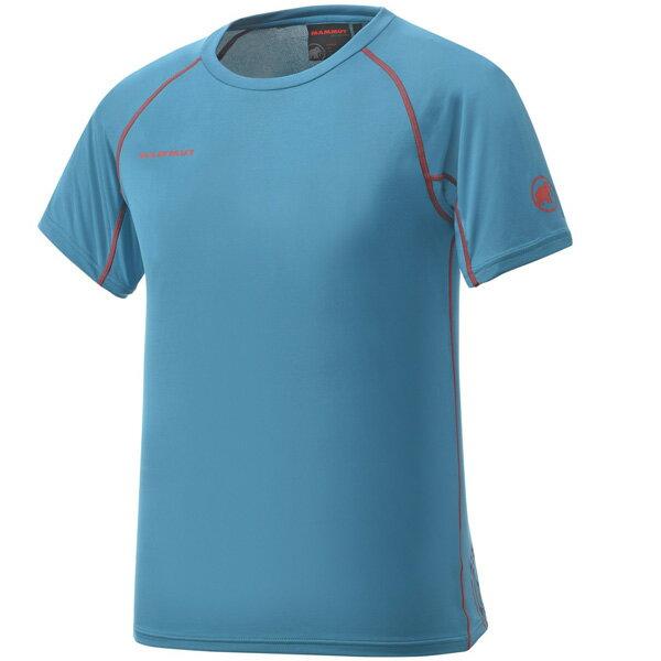 マムート MAMMUT 男性用Tシャツ COOL TOP T-Shirts Men ダークパシフィック ユーロSサイズ(日本M)1041-08600-5713