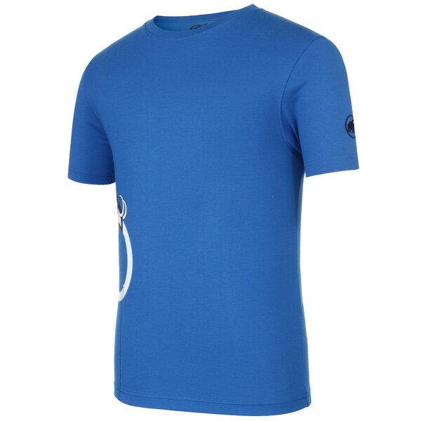 マムート MAMMUT 男性用Tシャツ Cozma T-Shirt AF Men ダークシアン ユーロMサイズ(日本L)1041-08850-5611