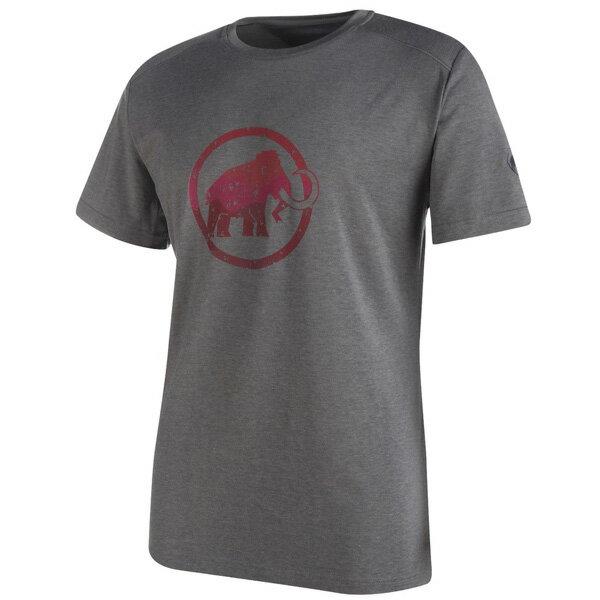 マムート MAMMUT 男性用Tシャツ Trovat T-Shirt Men ブラックメランジェ ユーロSサイズ(日本M)1041-09860-0033