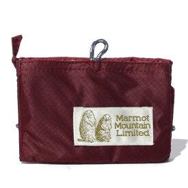 マーモット Marmot 3つ折り財布 Wallet ウォレット エンジ MJB-F6383A