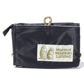 マーモット Marmot 3つ折り財布 Wallet ウォレット ネイビー MJB-F6383A