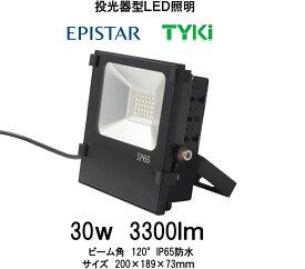 豊田合成(EPASTAR)LED投光器 30W IP65防水 3300Lm