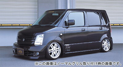WAGON R MH22S/21S MP PHANTOM version FRONT GRILLE (ABS製、アルミネット付) 塗装済み