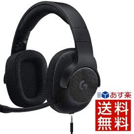 Logicool G ゲーミングヘッドセット 有線 G433BK 高音質 7.1ch Dolby 3.5mm usb 軽量 ノイズキャンセリング 単一性 着脱式マイク PC/PS4/Switch/Xbox/スマホ 国内正規品 ロジクール