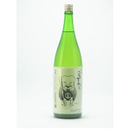 こなき純米無濾過 1.8L 【日本酒】【鳥取/千代むすび酒造】【RCP】