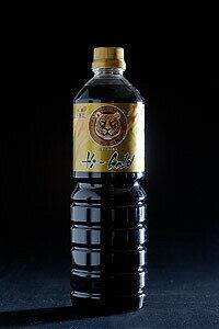 【とら醤油 ハイゴールド 1L】 倉敷 美味しい 醤油 お取り寄せ 国産 岡山県産 本醸造 濃口醤油 とら とら醤油