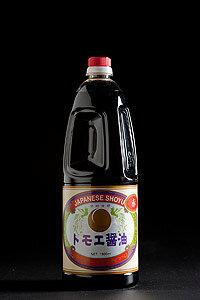 【とら醤油 トモエ醤油 赤 1.8L】 倉敷 美味しい お取り寄せ 国産 岡山県産 濃口醤油 業務用 とら醤油