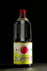 【とら醤油 トモエとんかつソース 1.8L】 倉敷 美味しい お取り寄せ とんかつ とら醤油