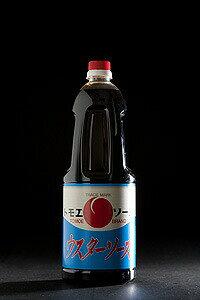 【とら醤油 トモエウスターソース 1.8L】 倉敷 美味しい お取り寄せ 串カツ とら醤油