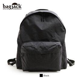【正規販売店】バッグジャック デイパック M リュック ブラッククラシック bagjack daypack M