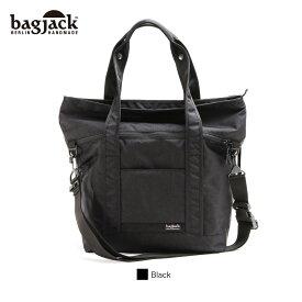 【正規販売店】バッグジャック 4way トートバッグ リュック ショルダー ブラッククラシック bagjack 2face tote 4way tote