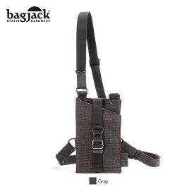 【正規販売店】バッグジャック チェストホルスターポーチ ガンホルダー bagjack chest holster pouch grid