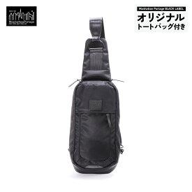 【正規販売店】マンハッタンポーテージブラックレーベル ツイル ボディバッグ TWILL SLING CROSS BODY BAG Manhattan Portage BLACK LABEL MP1922TWLBL
