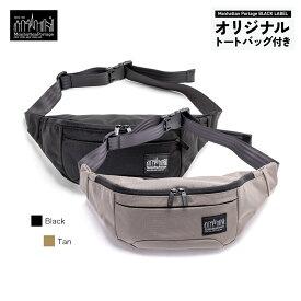 【正規販売店】マンハッタンポーテージブラックレーベル チェイサー ウエストバッグ ボディバッグ CHASER WAIST BAG Manhattan Portage BLACK LABEL MP1110BL