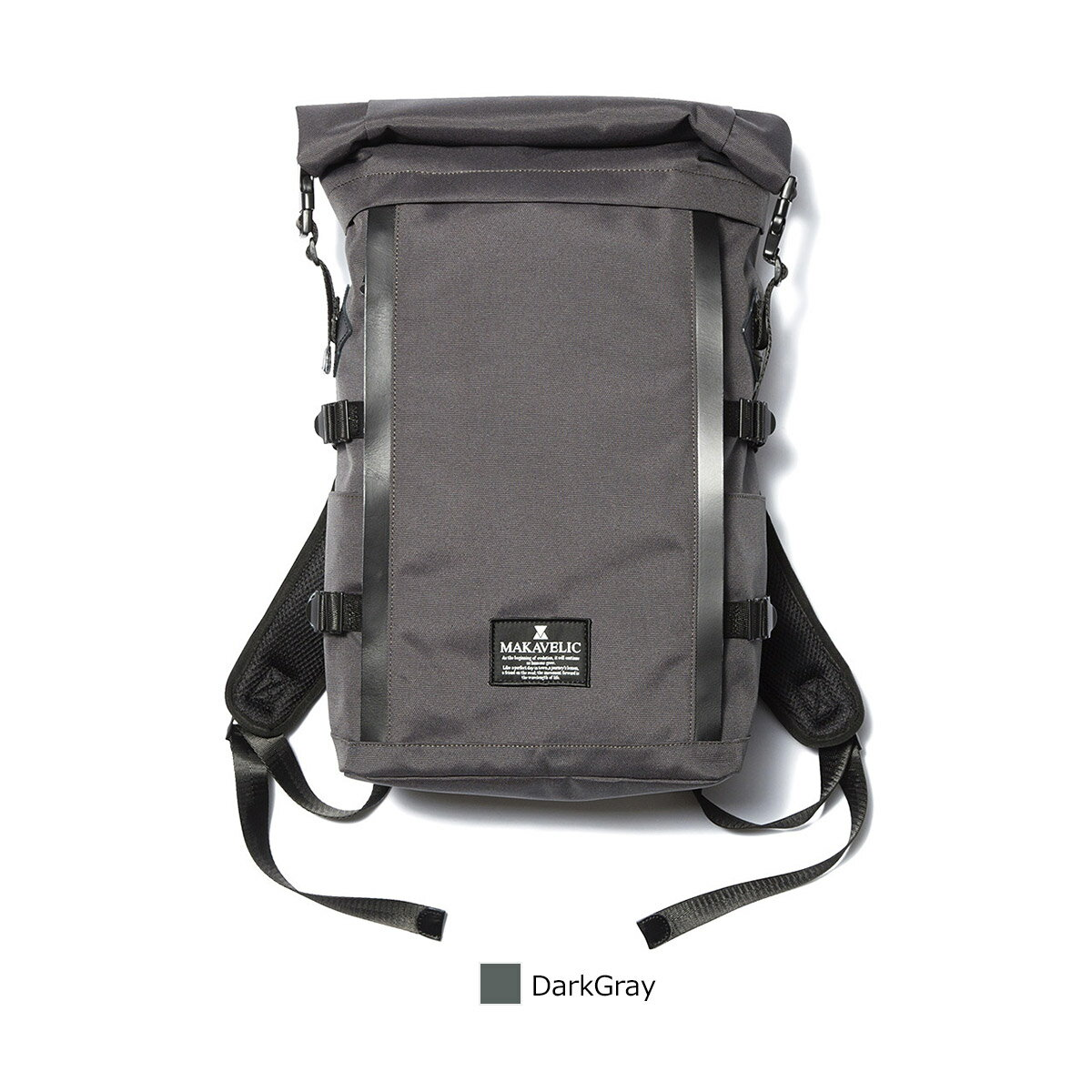 【SALE】【正規販売店】マキャベリック サイクリスト バックパック リュック ロールトップ CHASE CYCLIST BACKPACK MAKAVELIC 3106-10120dg