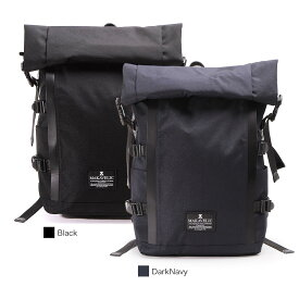 【SALE】【正規販売店】マキャベリック サイクリスト バックパック リュック ロールトップ CHASE CYCLIST BACKPACK MAKAVELIC 3106-10120