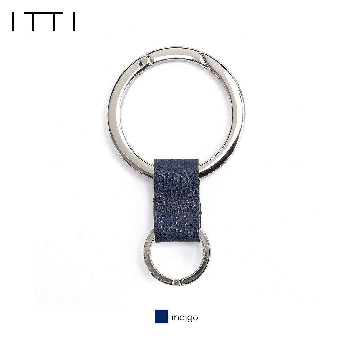 【正規販売店】イッチ 姫路藍桟革 キーリング CRISTY RING RING/藍桟革 ITTI-GOODS-003-C