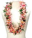 フラダンス衣装 レイ ハワイアンレイ フラワーレイ ハワイ 花飾り イベント フラ PK-26 ニューオーキッドラウ…