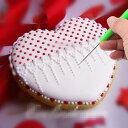 【メール便送料無料】torekagu アイシング クッキー モデリング ツール ニードル 6本セット