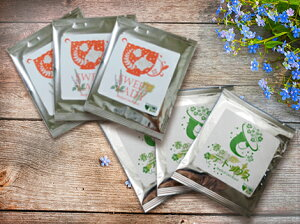 ブレンド ハーブ ハーブティー ティーパック ノンカフェイン 春のデトックス エルダーフラワーとネトルのブレンドハーブティー 花粉症 巣ごもり ギフト