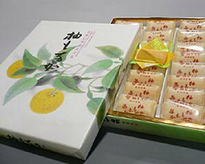 【港屋】柚もなか(21個入)