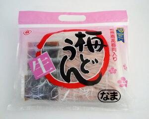 【ナルト製麺】紀州南高梅入り梅うどん(4人前)