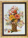 東京文化刺繍キット297「ポピーの花かご」(6号)