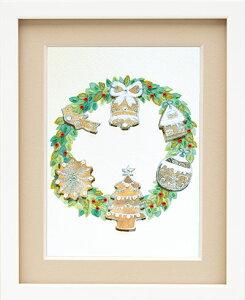 ミユキ ビーズデコールキット 「アイシングクッキーのクリスマスリース」(12月) BHD-116 PART XVII(パート17) スイーツデコールの12か月シリーズ MIYUKI December 師走 Christmas X'mas