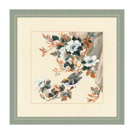RIOLISクロスステッチ刺繍キット No.1573 「Majestic Song」 (マジェスティック ソング 花鳥) 【海外取り寄せ/納期30〜60日程度】