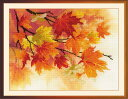 RIOLISクロスステッチ刺繍キット No.0054 PT 「Autumn Colors」 (紅葉) 【プリント済みキット】 【取り寄せ/納期1〜2ヶ月】