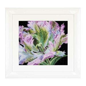 Thea Gouverneur クロスステッチ刺繍キットNo.494 「Tulip」(チューリップ 花) オランダ テア・グーヴェルヌール 【取り寄せ/納期40〜80日程度】
