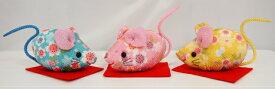 東芸ちりめん手芸キット No.3489 「桜の三福ねずみ」 (さくらのさんふくねずみ) 2020年 (令和2年) 子年 ネズミ 干支