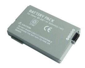 【単品】キャノンBP-208互換バッテリー、Canon iVIS HR10/DC200/DC40/DC22/DC20/DC10/DVS1/FV M300等対応