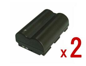 【2個セット】コニカミノルタ KONICAMINOLTA NP-400互換バッテリーのお得な2個セット