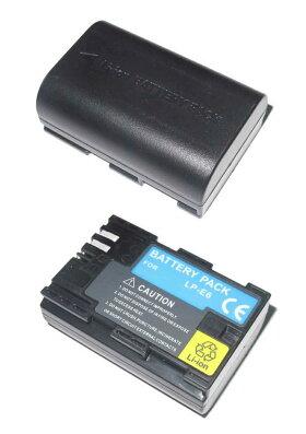 キャノンLP-E6『残量表示付』互換バッテリー、CANONEOS5DMarkII,EOS7D用