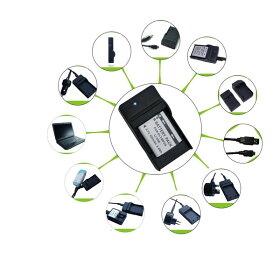 『DC16』バッテリー充電器、D-LI78・LI-60B・DB-80・LI-50B・DB-100・NP-BK1・VW-VBX090・NP-150対応互換バッテリーチャージャー