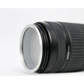 新品UVフィルターカメラレンズ保護、AF対応【フィルター径:58mm/色選択自由】