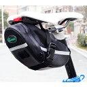 【B053】自転車用 防水 サドルバッグ リアポーチ 小物収納 / ロードバイク マウンテンバイク 等のサドル下へ簡単取り…